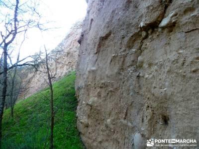 Cárcavas del Río Perales - Sierra Oeste de Madrid; senderismo y excursiones;viajes culturales